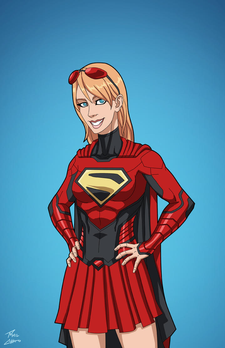 Supergirl (Earth-27) Titan variant by phil-cho