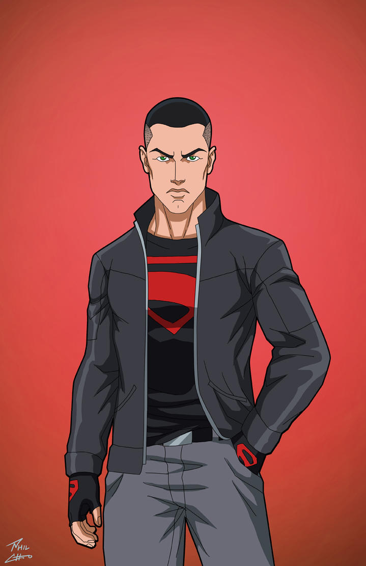 Superboy (Earth-27) Modern commission by phil-cho