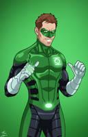 Green Lantern Hal Jordan (Earth-27) commission by phil-cho