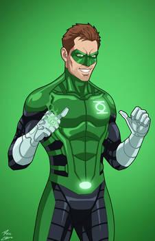 Green Lantern Hal Jordan (Earth-27) commission