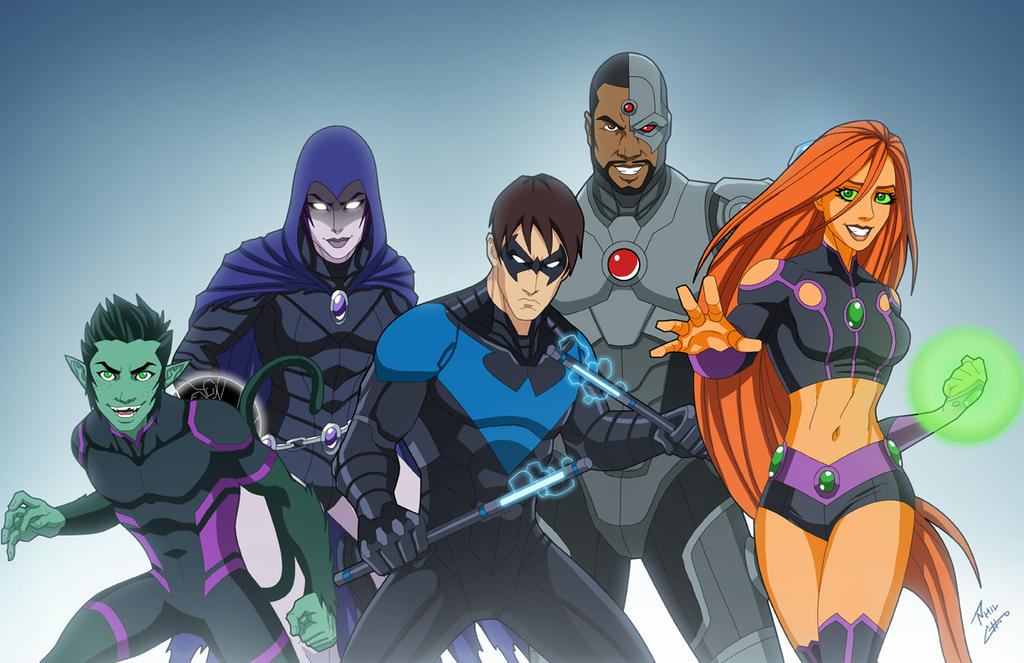 How Old Are The Teen Titans 72