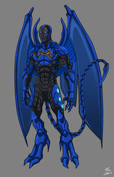 Blue Beetle Redesign commission