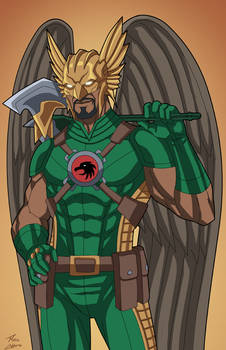 Hawkman (Earth-27) commission