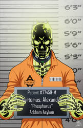 Alexander Sartorious (Earth-27) locked up by phil-cho