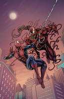 Spider-man Vs Carnage by phil-cho