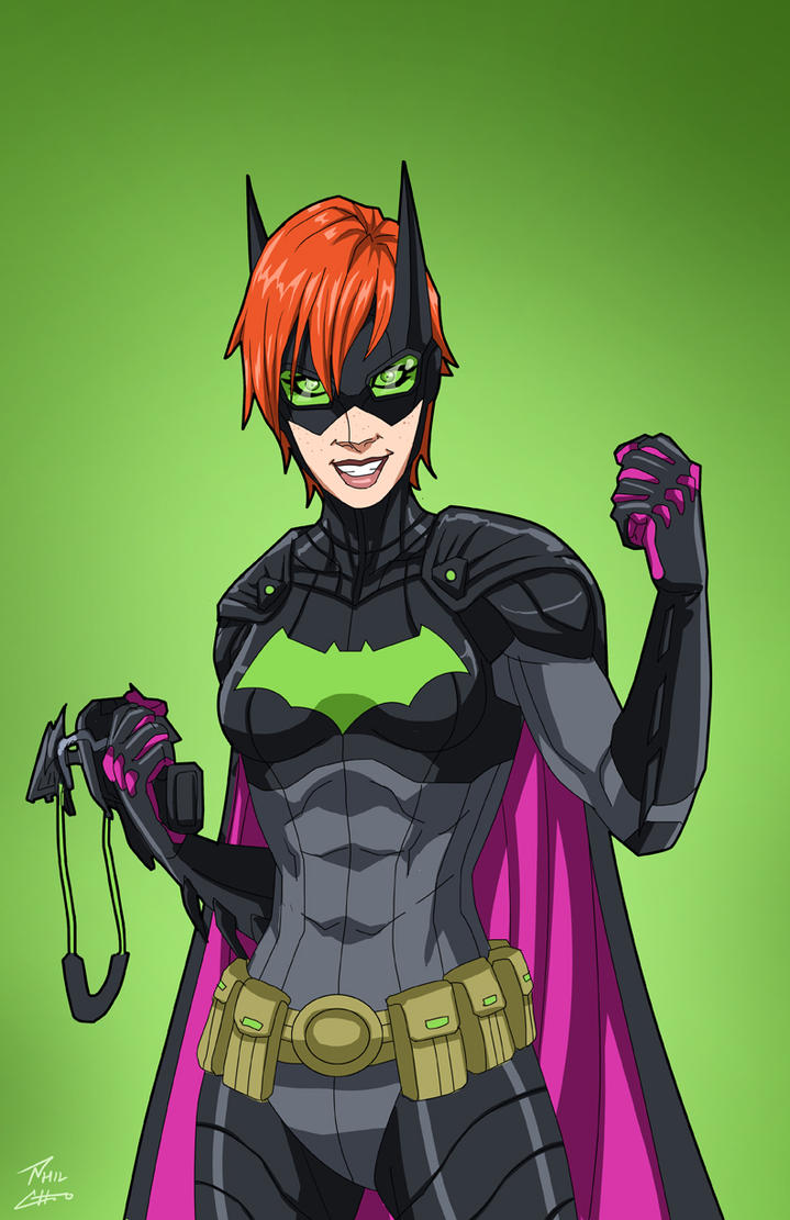 Batgirl 5.0 (Earth-27) commission by phil-cho