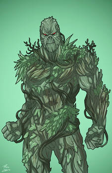 Swamp Thing (Earth-27) commission