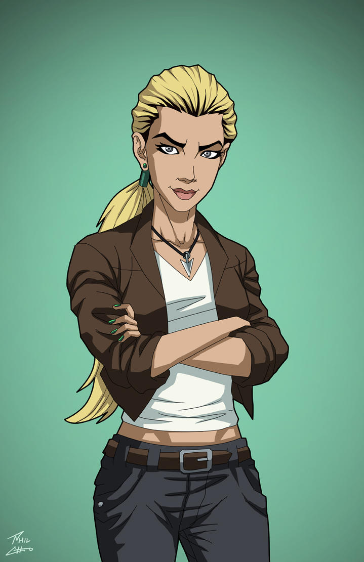 Artemis Crock (Earth-27) commission by phil-cho on DeviantArt