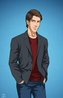 Ray Palmer (Earth-27) commission by phil-cho
