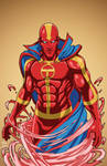 Red Tornado 1.0 (Earth-27) commission