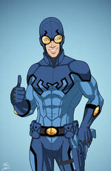 Blue Beetle (Earth-27) commission