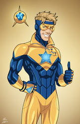 Booster Gold (Earth-27) commission