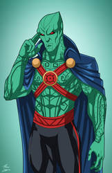 J'onn J'onzz (Earth-27) commission