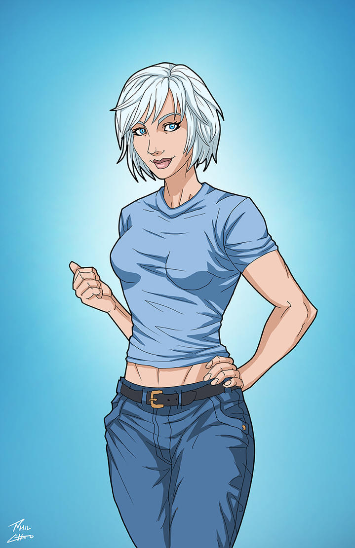Tora Olafsdotter (Earth-27) commission by phil-cho