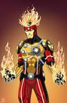 Firestorm (Earth-27) commission