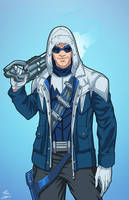 Captain Cold (Earth-27) commission by phil-cho