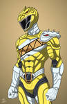 Yellow Indominus Rex Ranger commission