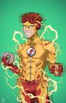 Kid Flash (Earth-27) commission