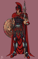 Ares [Classical] (NeOlympus) commission by phil-cho