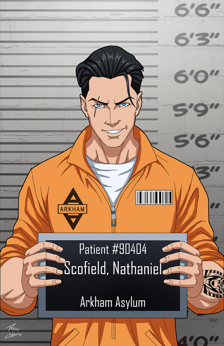 Nathaniel Scofield (Earth-27) locked up commission by phil-cho