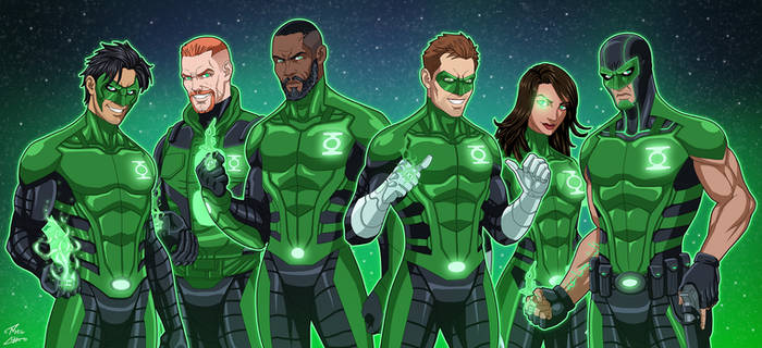 Green Lantern Corps (Earth-27)