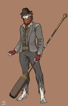 Charon the Ferryman (NeOlympus) commission