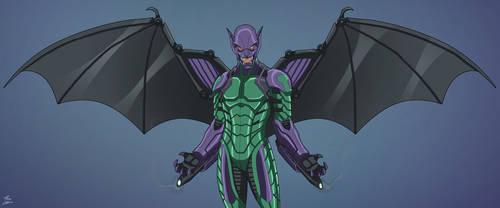 Gargoyle (Earth-27) OC commission by phil-cho