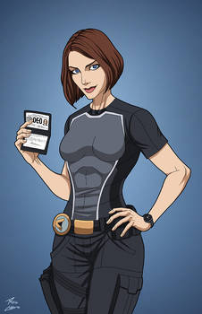 Alex Danvers (Earth-27) commission