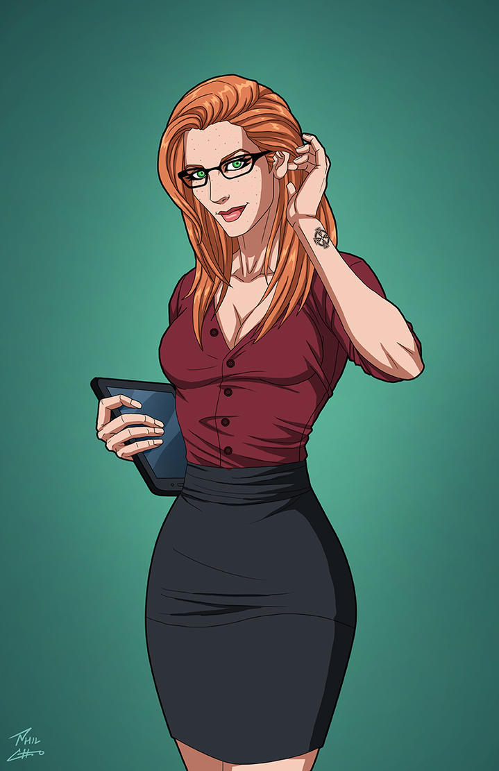 Ellen Trechend (Earth-27) OC commission by phil-cho