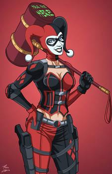 Harley Quinn (E-27: Enhanced) commission