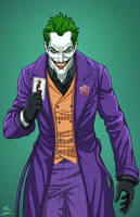 Joker (E-27: Enhanced) commission by phil-cho