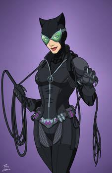 Catwoman (E-27: Enhanced) commission