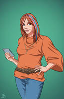 Tammie Westerman (Earth-27) commission by phil-cho