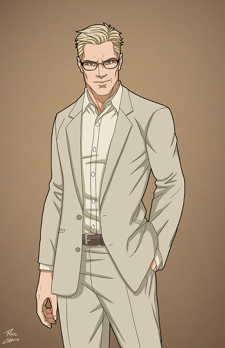 Wesley Dodds (Earth-27) commission by phil-cho