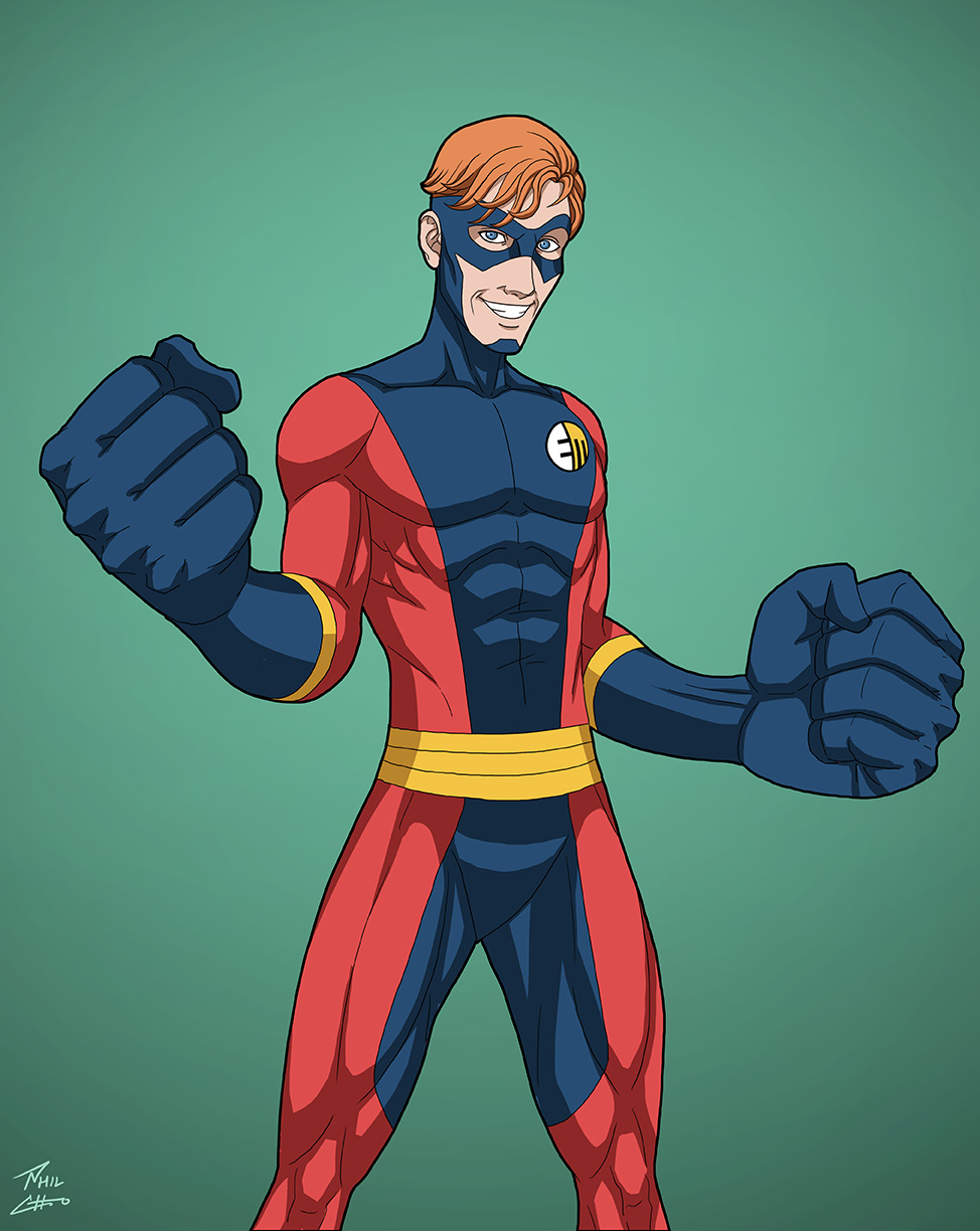 Elastic Man Earth 27 Commission By Phil Cho On Deviantart