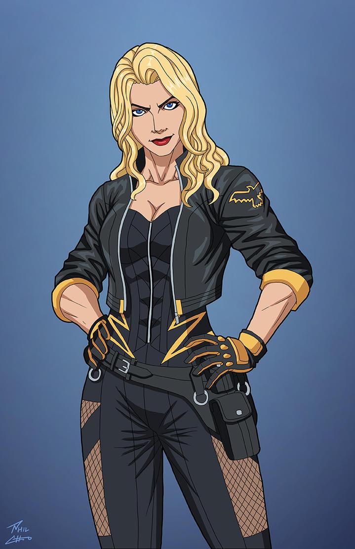 Black Canary (E-27: Enhanced) commission by phil-cho