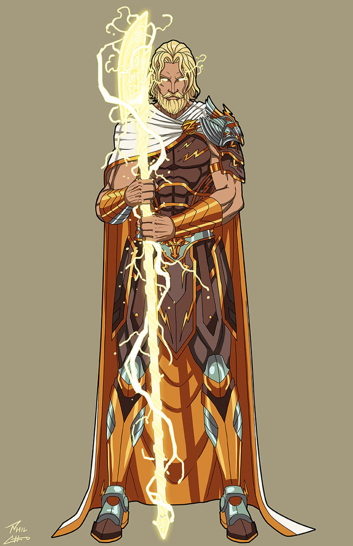 Classical Zeus commission by phil-cho