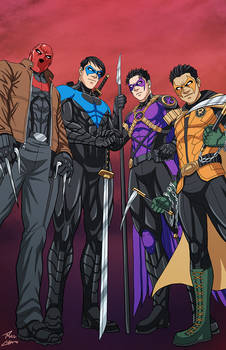 Bat Brothers commission