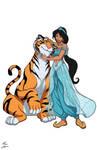 Jasmine and Rajah commission
