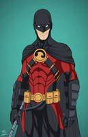 Red Robin [Redux] (Earth-27) commission by phil-cho