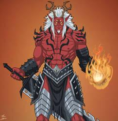 Trigon (Earth-27) commission