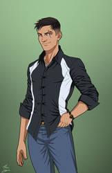 Damian Wayne (E-27: Enhanced) commission
