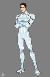 Tron (white suit) commission