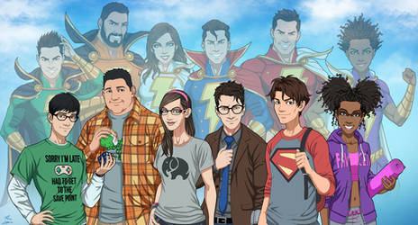 Shazam Family v.2 (Earth-27)