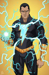 Black Adam v.2 (Earth-27) commission by phil-cho