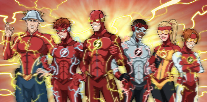 Flash Family NEW