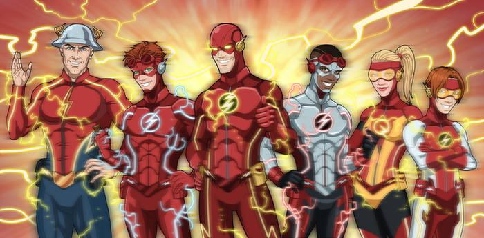 Flash Family NEW