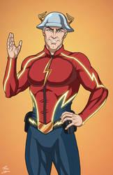 Flash [Jay Garrick] (Earth-27) by phil-cho