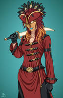 Psycho Pirate (Earth-27) commission