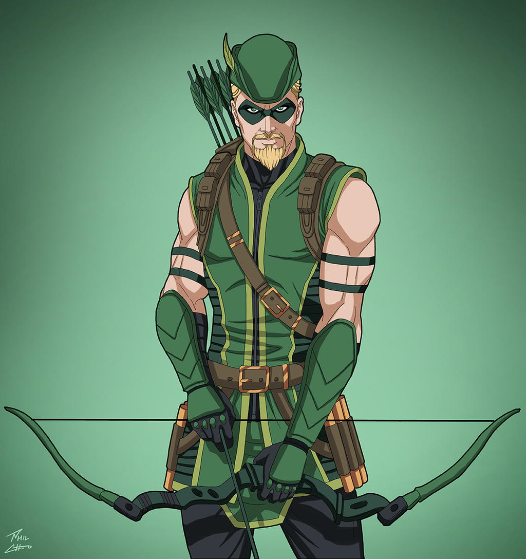 Green Arrow [2007] (Earth-27) commission